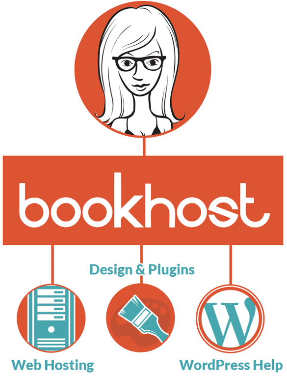 Book Host offers everything in one location: web hosting, design/plugins, and WordPress help